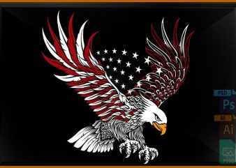 Bald Eagle buy t shirt design for commercial use