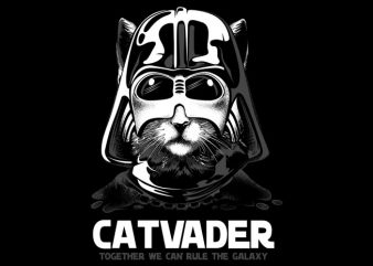 CatVader t shirt vector file