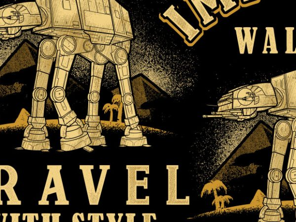 Imperial Walker buy t shirt design