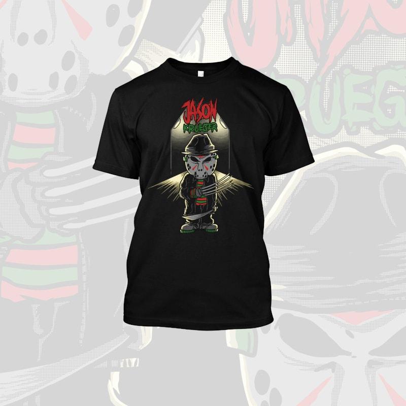 Jason Krueger t shirt designs for sale