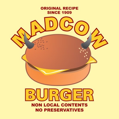 MADCOW buy t shirt design artwork