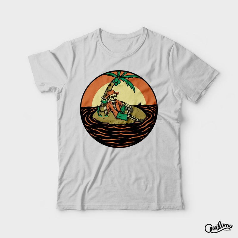 Stranded in Heaven t shirt designs for merch teespring and printful