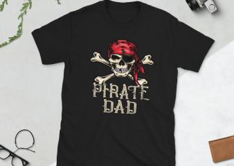 Pirate png – Pirate dad t-shirt design png