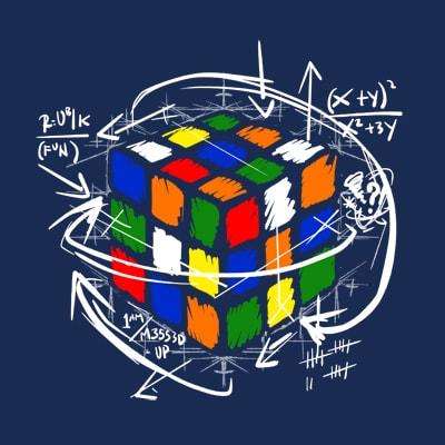 Rubikcube's Math t shirt designs for print on demand