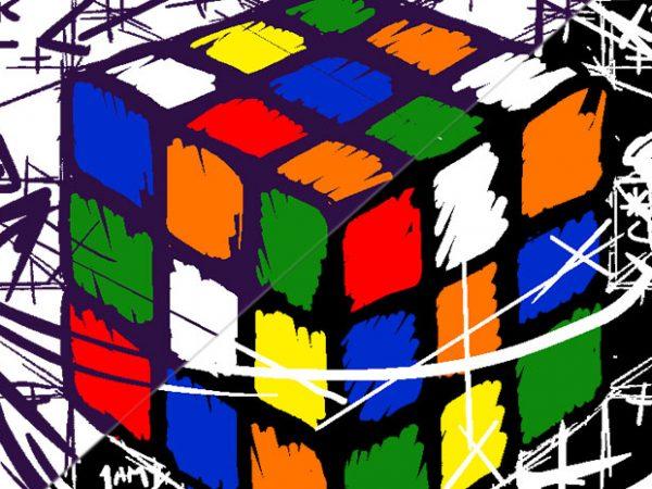 Rubikcube's Math design for t shirt