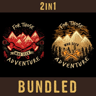 Seek Adventure t shirt designs for sale