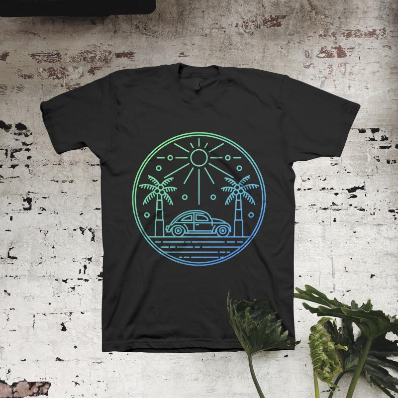 Simple Adventure tshirt factory