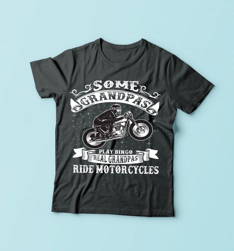 Some Grandpa buy tshirt design