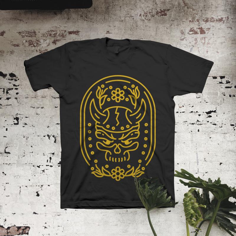 Viking Skull t shirt designs for teespring
