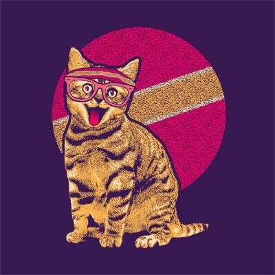 Workout Cat t shirt designs for sale