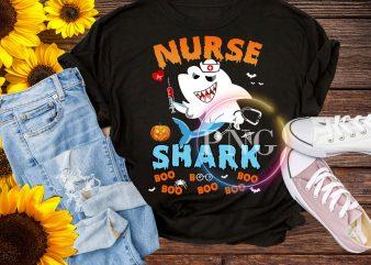Nurse Shark Boo Boo Boo – Halloween Nurse Shark Pumpkin t shirt design to buy