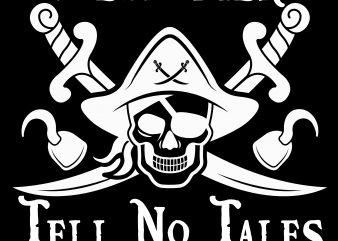 Pirate png – Dead men tell no tales t shirt design to buy