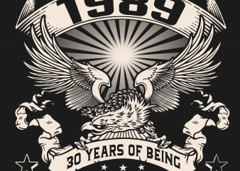 Birthday Tshirt Design – Age Month and Birth Year -September 1989 30 Years Awesome