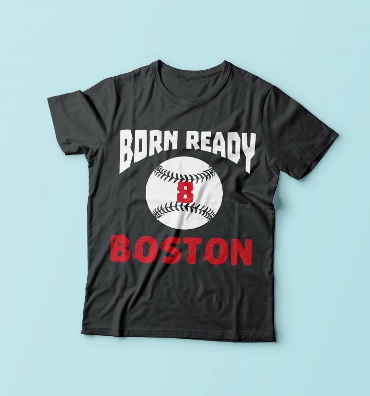 Born Ready Boston tshirt factory