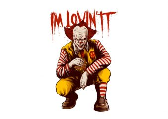 I'm Lovin IT t-shirt design for sale