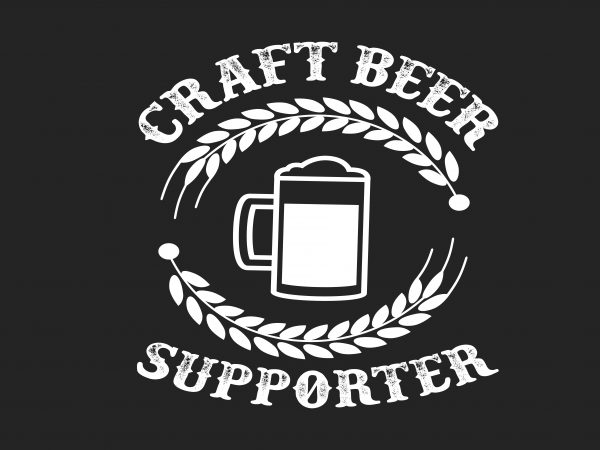 Craft Beer t shirt vector file