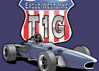 eagle westlake vector clipart