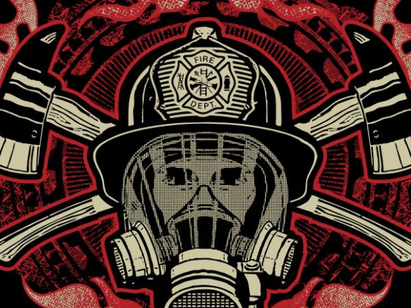 Firefighter Last Out buy t shirt design