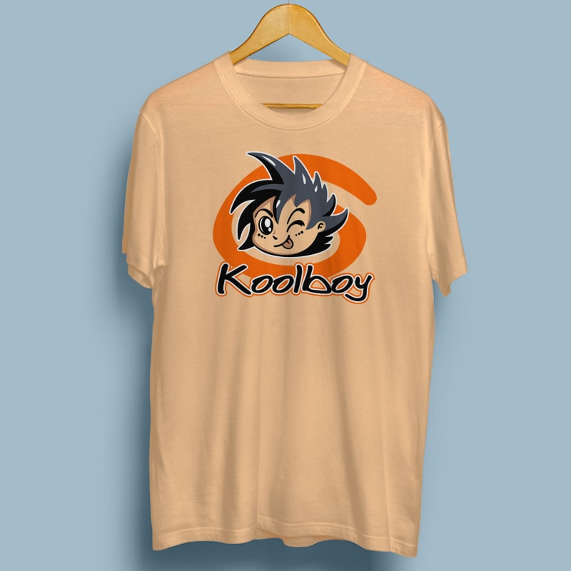 KOOLBOY tshirt designs for merch by amazon