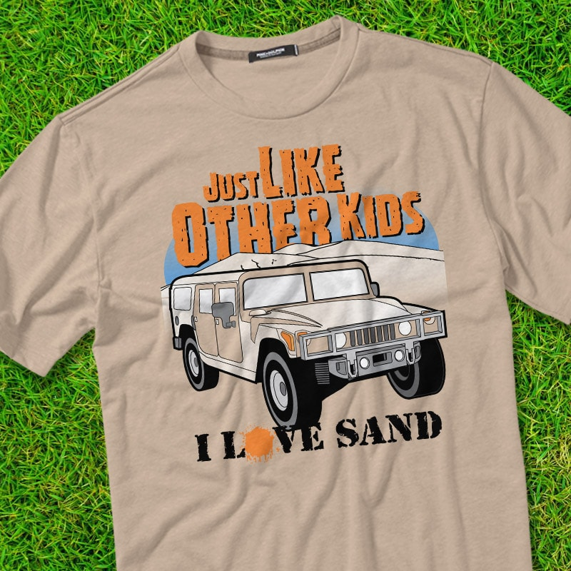 LOVE SAND tshirt design for sale