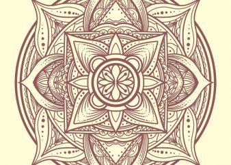 mandala tshirt design