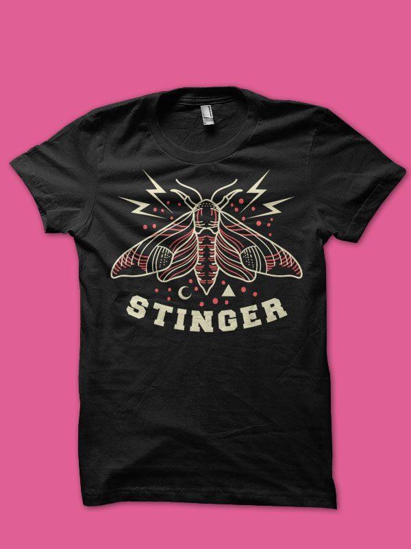 moth tshirt design buy tshirt design