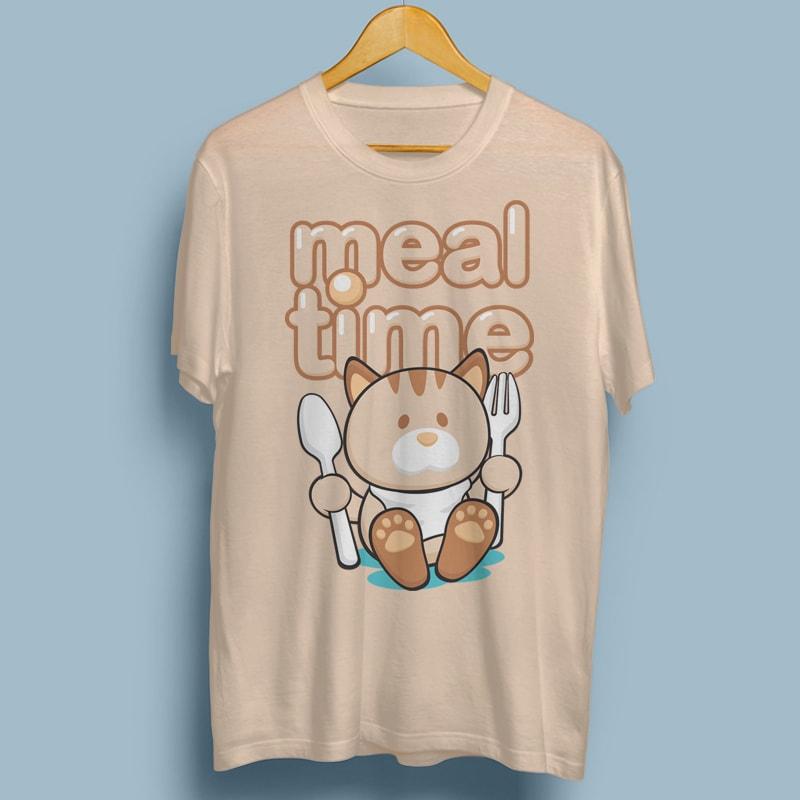 MEAL TIME buy tshirt design