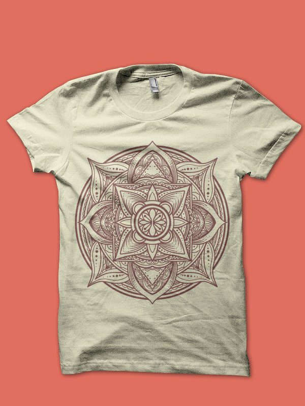 mandala tshirt design tshirt design for sale