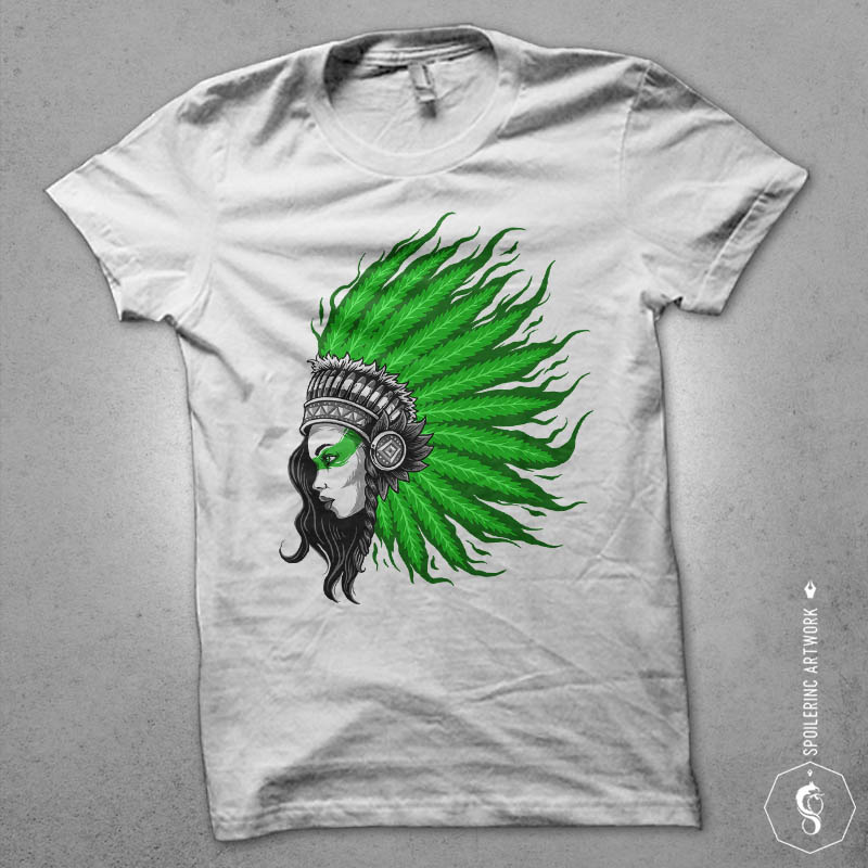 hair of fire Graphic t-shirt design t shirt design png