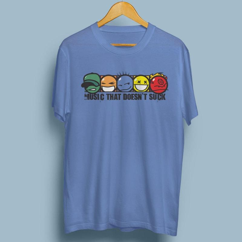 MUSIC THAT DOESN'T SUCK buy tshirt design