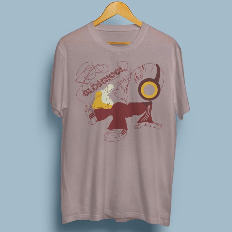 OLDSCHOOL buy tshirt design