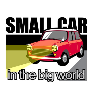 SMALL CAR t shirt design for purchase