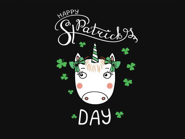 Happy St Patrick's graphic t shirt