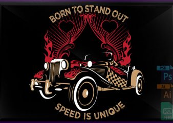 Speed Exciting buy t shirt design