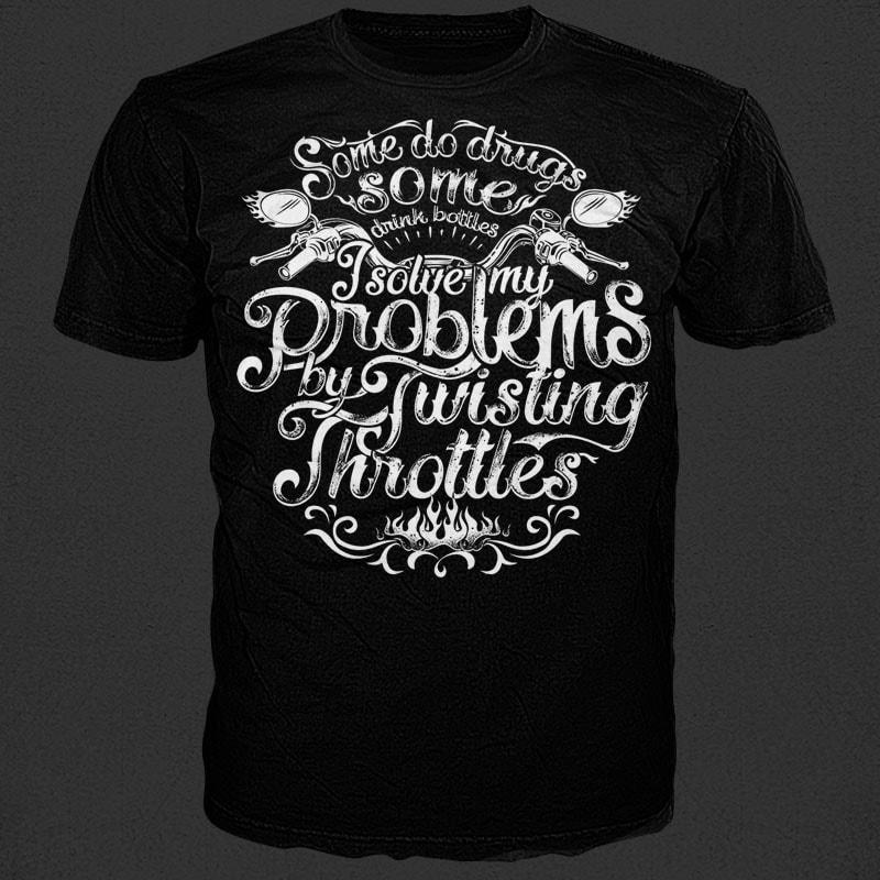 Throttle tshirt factory