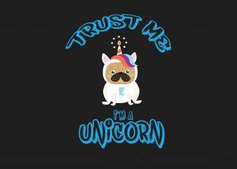 Trust Me Unicorn t shirt designs for sale