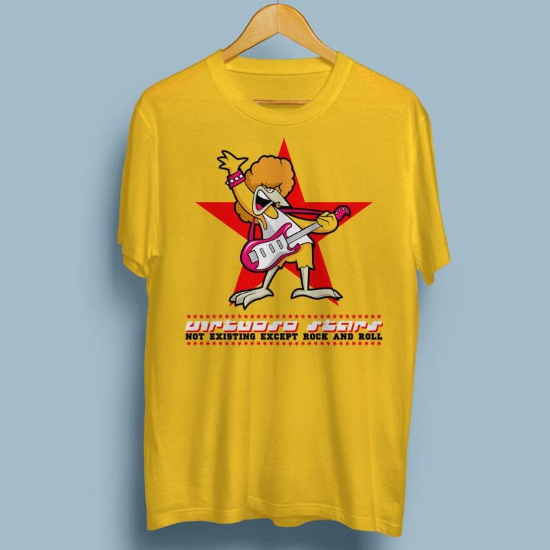 VIRTUOSO tshirt designs for merch by amazon