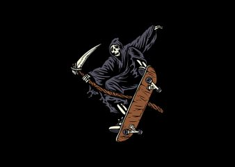 Skate Reaper buy t shirt design