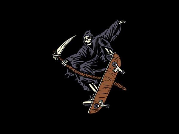 Skate Reaper buy t shirt design