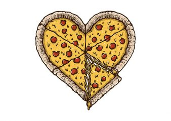 Pizza Lover t shirt design for sale