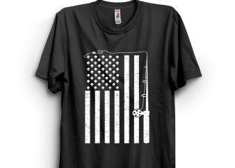 American and rod t shirt design for purchase