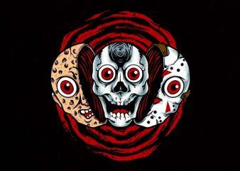 double killer Graphic t-shirt design