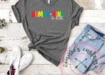 Human Kind – Be Both graphic t shirt