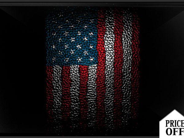AMERICAN leather print ready shirt design