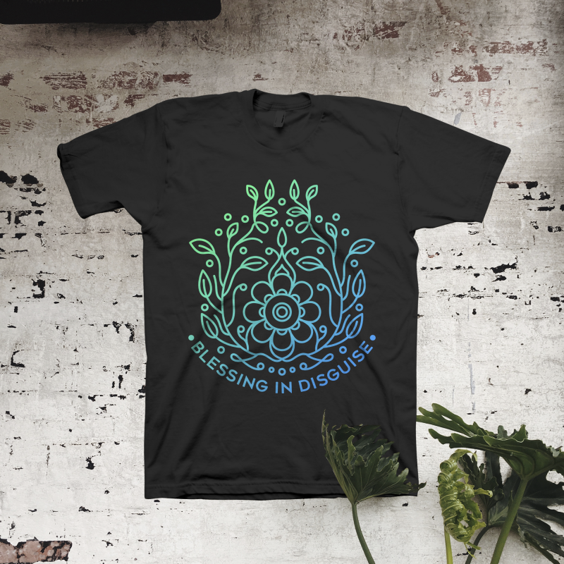 Blessing in Disguise t shirt designs for teespring