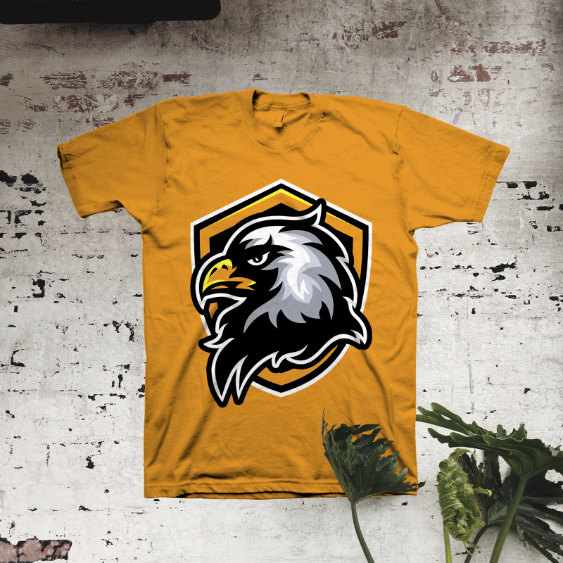 Eagle Head t shirt designs for print on demand