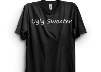Funny Ugly Sweater design for t shirt