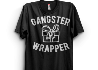 Gangster Wrapper t shirt design to buy