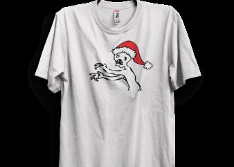 Grr Argh Christmas t shirt design template