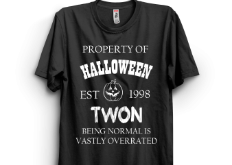 Halloween 104 commercial use t-shirt design